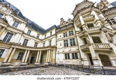 BLOIS,FRANCE-CIRCA JUNE 2016: Visiting Blois castle
