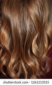 blond brown hair close up, balayage