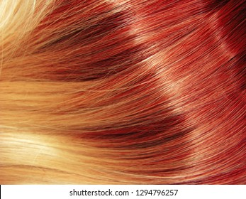 blond shiny hair texture ombre abstract fashion style background