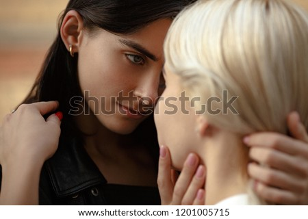 Blonde Lesbian Teens Loving Each other