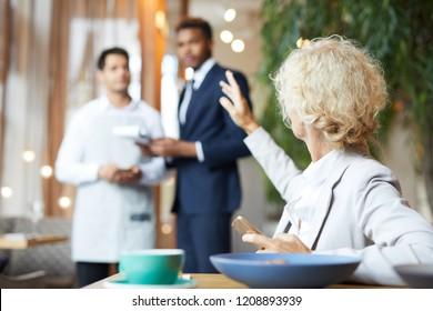 Calling Waiter Images, Stock Photos & Vectors | Shutterstock