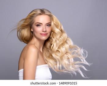 Blonde Long Hair Hd Stock Images Shutterstock