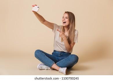 sitting on vibrator Woman