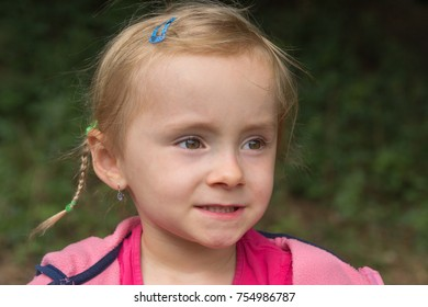 Blonde young girl