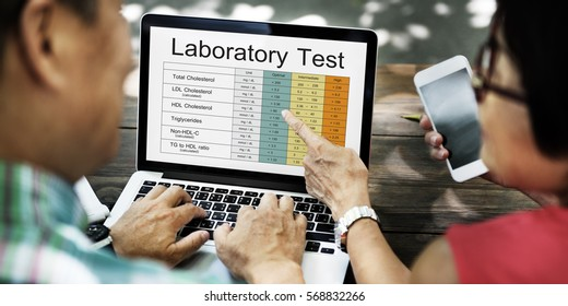 Blood Cholesterol Report Test Healthcare