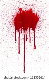 Blood drip
