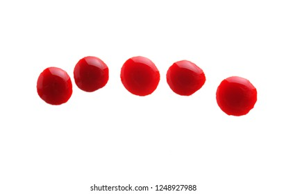 blood drop isolate