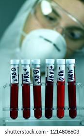 Blood laboratory tests