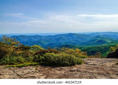 Blood Mountain Vista Appalachian Trial, Blood Mountain, Georgia