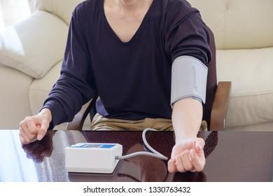 Blood pressure measurement japan model