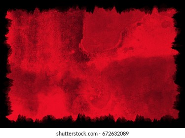 Blood red background