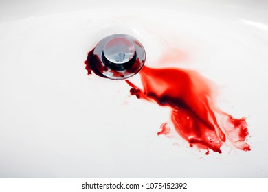 Blood in Sink