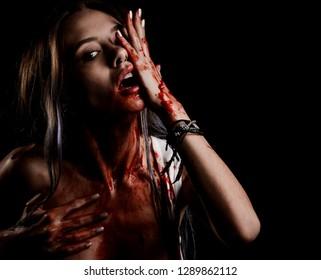 Bloody Girl possessed
