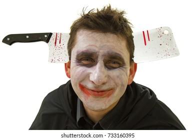 Halloween Joker Card.Evil Joker Images Stock Photos Vectors Shutterstock