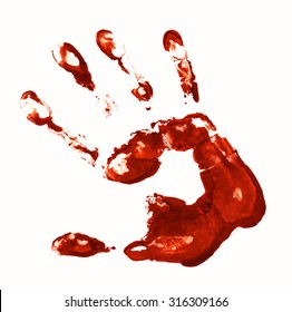Bloody Handprint Images, Stock Photos & Vectors | Shutterstock