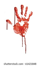 Bloody Hand Print Images, Stock Photos & Vectors | Shutterstock
