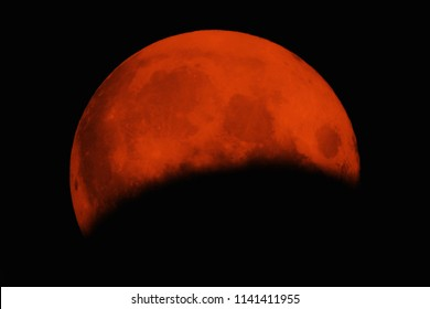 bloody lunar eclipse