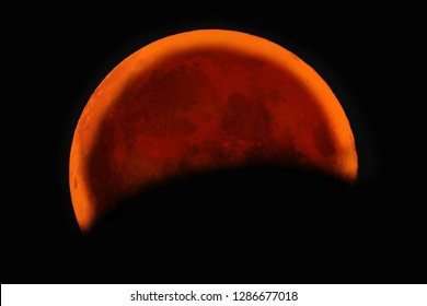 Bloody lunar eclipse