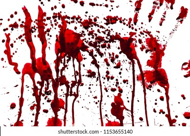 A bloody red background image that looks awesome and works on Halloween.