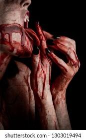 Bloody Vampire Woman