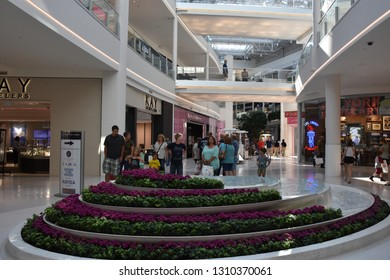 BLOOMINGTON, MINNESOTA - JUL 27: Mall of America in Bloomington, Minnesota, seen on July 27, 2017. It is the second largest mall in terms of leaseable space and the largest mall in the United States.