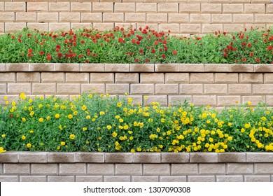 Brick Planter Images Stock Photos Vectors Shutterstock