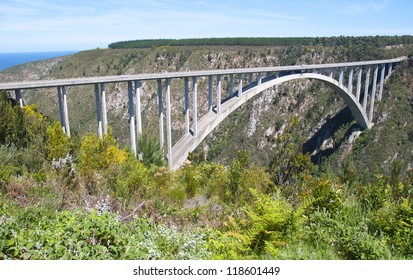 Bloukrans Bridge South Africa in the Garden Route