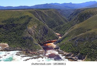 Bloukrans river mouth