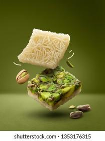Blourieh pistachio arabic sweets