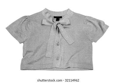 blouse isolated on white (with clipping path)