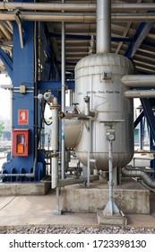 Blow down tank of heat recovery steam genertor