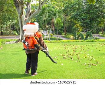 blow machine lawnmower