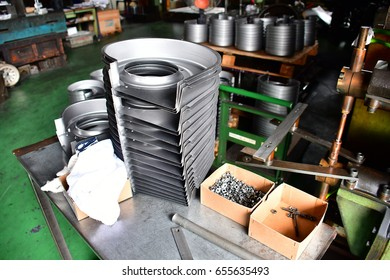 Blower Parts Produced by Sheet Metal Stamping Tool Die, Welded and assembled.