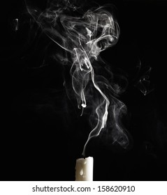 blown candle