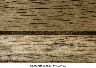 Blown dark wood table top
