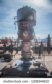 Blowout Preventer (BOP) in oil and gas rig.