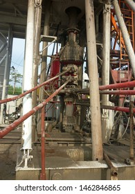 blowout preventer valve (BOP) is a large valve at the top of a well