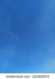 Blu sky with clound background.