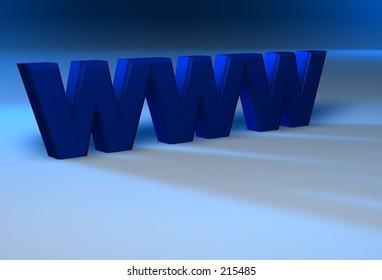 blue 3d www