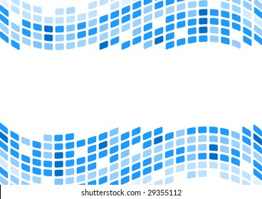 blue abstract background. raster version