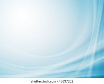 Blue abstract background for your business artwork