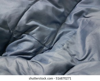 Blue abstract fabric texture