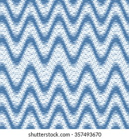 blue abstract Intricate seamless pattern background, ethnic ornamental fabric design