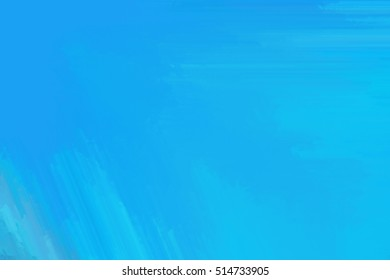 blue abstract painting background