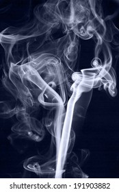Blue Abstract Smoke