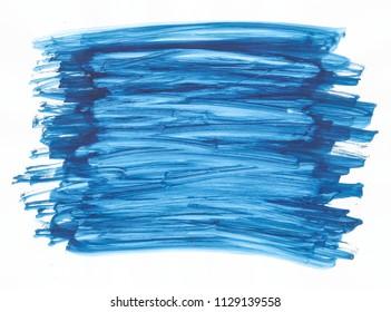 blue acrylic background