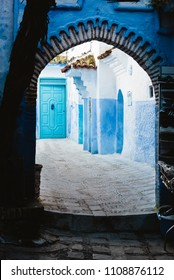 Blue Alley in Medina, Chefchaouen, Morocco
