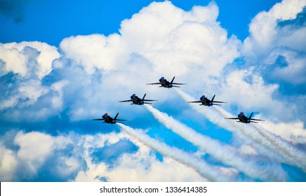 Blue Angels F-18 Airshow 2017