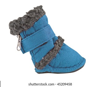 blue baby boot