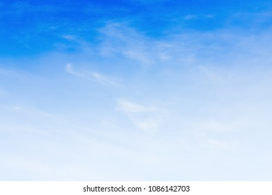 Blue backdrop in the air. - Shutterstock ID 1086142703